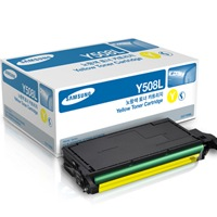 CLT-Y508L Toner Cartridge - Samsung Genuine OEM (Yellow)