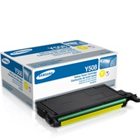 CLT-Y508S Toner Cartridge - Samsung Genuine OEM (Yellow)