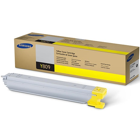 CLT-Y809S Toner Cartridge - Samsung Genuine OEM (Yellow)