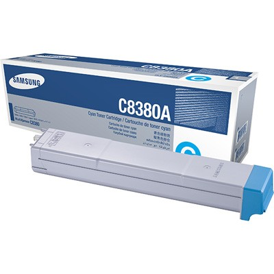 CLX-C8380A Toner Cartridge - Samsung Genuine OEM (Cyan)