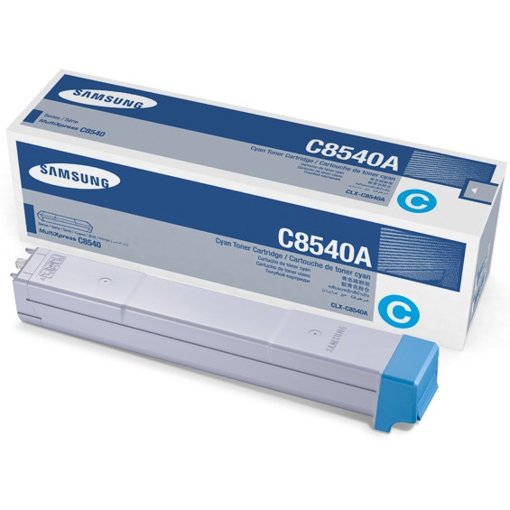 CLX-C8540A Toner Cartridge - Samsung Genuine OEM (Cyan)