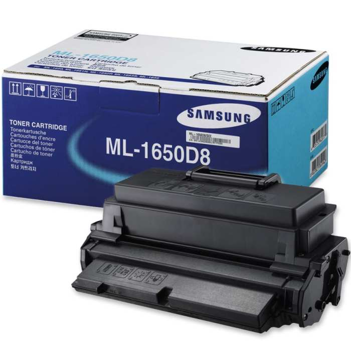 ML-1650D8 Toner Cartridge - Samsung Genuine OEM (Black)