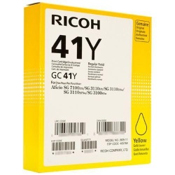 Savin 405764 Ink Cartridge - Savin Genuine OEM (Yellow)