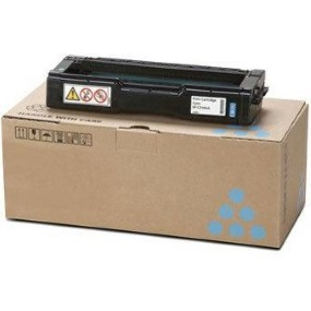 Savin 407896 Toner Cartridge - Savin Genuine OEM (Cyan)