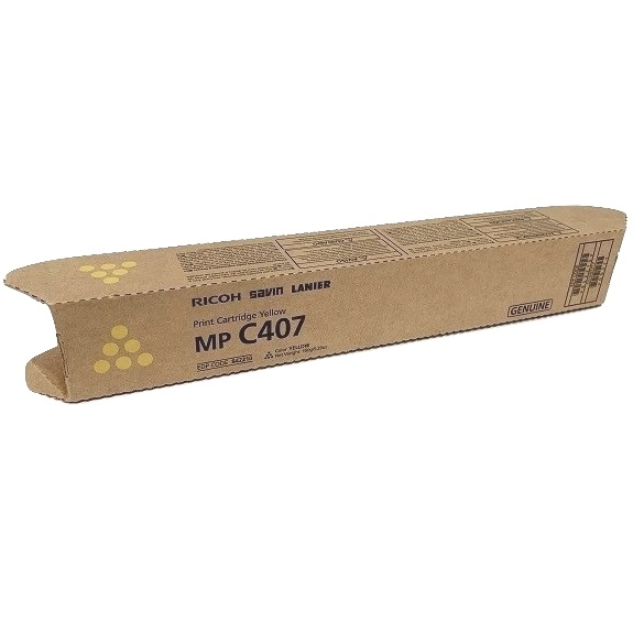 Savin 842210 Toner Cartridge - Savin Genuine OEM (Yellow)