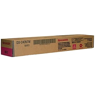 DX-C40NTM Toner Cartridge - Sharp Genuine OEM (Magenta)