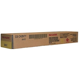 DX-C40NTY Toner Cartridge - Sharp Genuine OEM (Yellow)