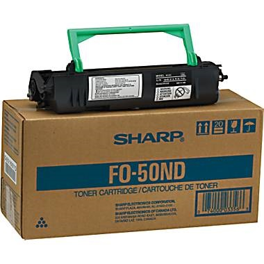 FO-50ND Toner Cartridge - Sharp Genuine OEM (Black)