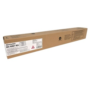 MX-60NTMA Toner Cartridge - Sharp Genuine OEM (Magenta)