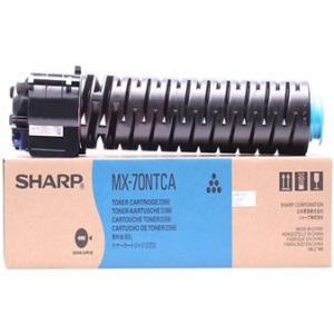 MX-70NTCA Toner Cartridge - Sharp Genuine OEM (Cyan)