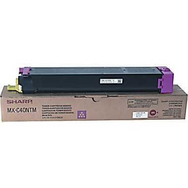 MX-C40NTM Toner Cartridge - Sharp Genuine OEM (Magenta)