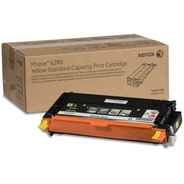 106R01390 Toner Cartridge - Xerox Genuine OEM (Yellow)