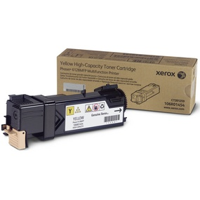 106R01454 Toner Cartridge - Xerox Genuine OEM (Yellow)