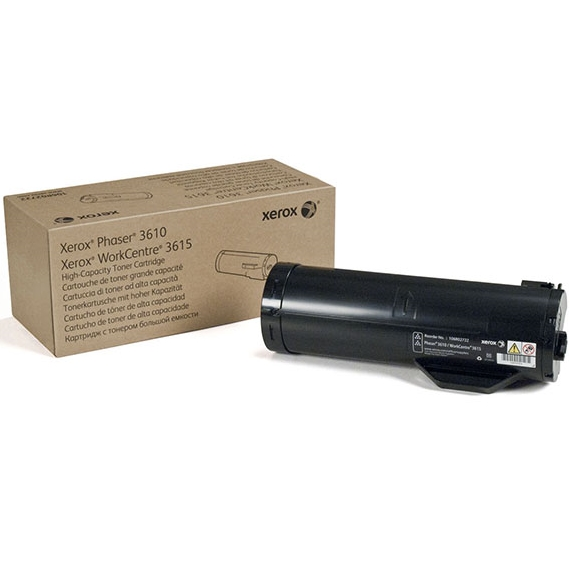 106R02722 Toner Cartridge - Xerox Genuine OEM (Black)