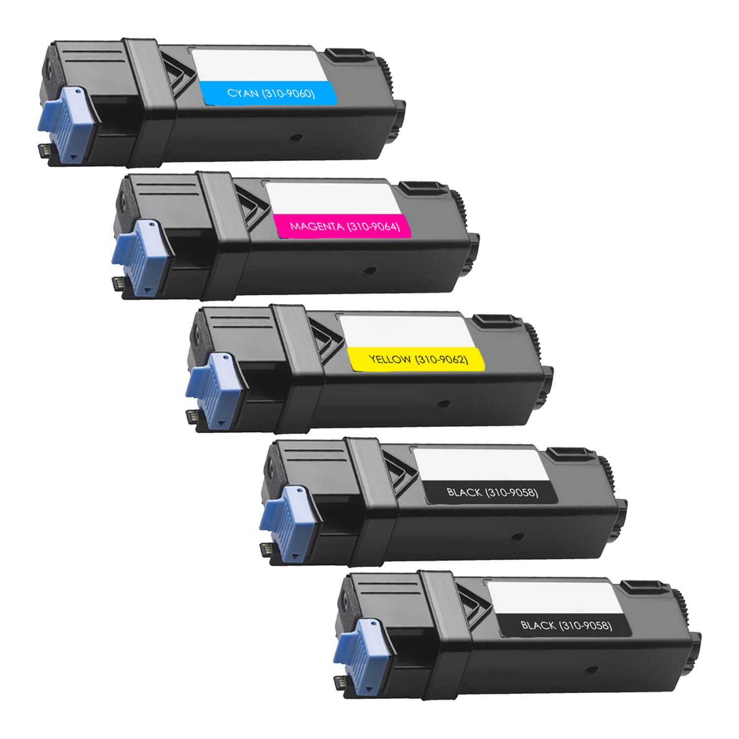 Remanufactured Xerox 6130 Toner Pack - 5 Cartridges